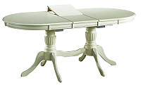 Деревянный раскладной стол Anjelica bianco (signal)