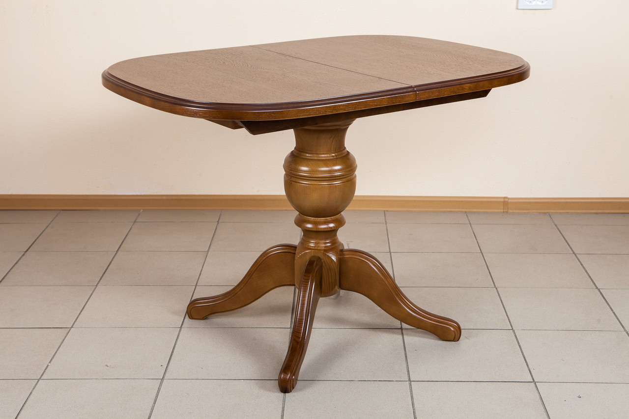 Стол обеденный раскладной Триумф Микс мебель, цвет орех рустикаль