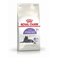 Сухой корм 1,5 кг для стерилизованных / кастрированных котов старше 7 лет Роял Канин / STERILISED 7+ Royal Canin