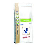 Сухой корм 1,5 кг для лечения и профилактики диабета у кошек Роял Канин / DIABETIC FELINE Royal Canin