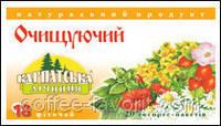 Чай очищающий №18 пакетированный 25 Х 1 гр