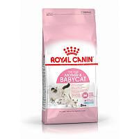 Сухой корм 2 кг для котят, беременных и кормящих кошек Роял Канин / MOTHER&BABYCAT Royal Canin