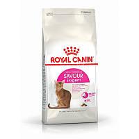 Сухой корм 4 кг для кошек привередливых ко вкусу корма Роял Канин / EXIGENT SAVOUR Royal Canin