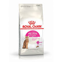 Сухой корм 2 кг для кошек привередливых в еде с привлекательным содержанием белка Роял Канин / EXIGENT PROTEIN