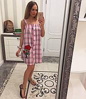 Женский модный хлопковый сарафан с вышивкой (6 цветов), фото 1