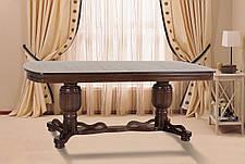 Стол обеденный раскладной Барон Микс мебель, цвет орех, фото 2