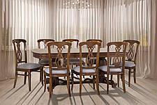 Стол обеденный раскладной Барон Микс мебель, цвет орех, фото 3