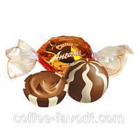 Конфеты «Roshen» Ангаже с шоколадно-ванильной начинкой 3,5 кг в упаковке