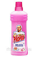 Средство Мистер Пропер моющее для пола  Роза 750 мл.
