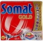 Средство моющее Сомат для посудомоечных машин ГОЛД таблетки 12 шт