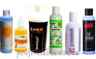 Жидкость для снятия гель-лака, биогеля и акрила