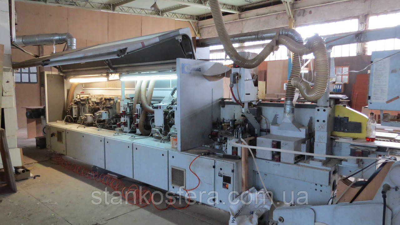 Кромкооблицовочный станок Homag KL77/A3/S2 бу: полный цикл на скорости 18-24м/мин