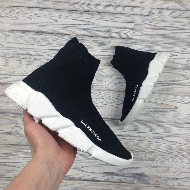 Кроссовки Balenciaga Speed stretch-knit Mid