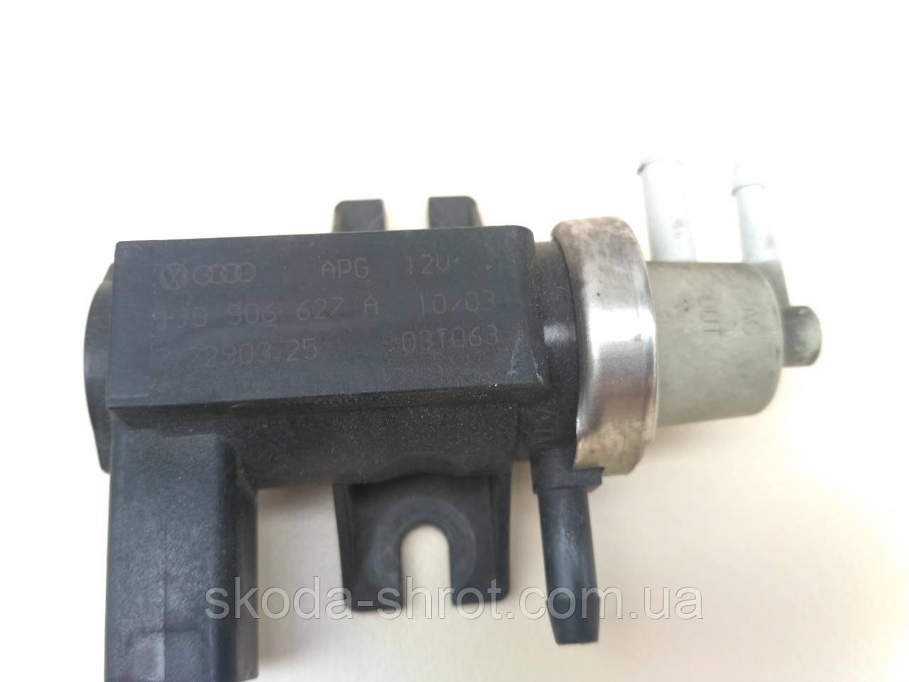 Клапан турбіни, перетворювач тиску, турбокомпресор, 1J0906627A №75