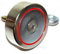 Поисковый магнит двухстороний РЕДМАГ сила 600 кг