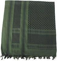 Куфия (арафатка) 115x110см зелёно-чёрная MFH 16503B