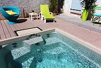 Композитный керамический бассейн европейского качества CITY POOL 4,75 x 2,43 x 1,35 м