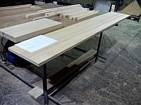 Мебельный щит цельноламельный сосна 18мм сорт А/В