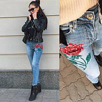 ДТ0620 Стильные облегающие джинсы , фото 2