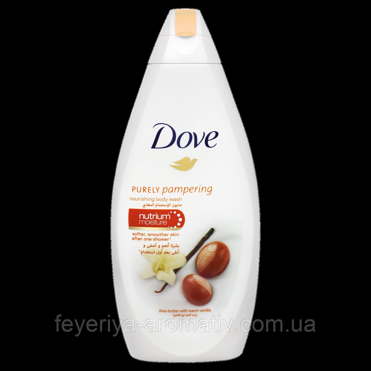 Гель для душа Dove масло ши и ваниль, 250гр (Германия)