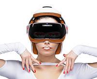 Пользоваться массажером для головы легко и просто. Вы одеваете его на голову, выбираете понравившуюся вам программу, и наслаждаетесь процессом.