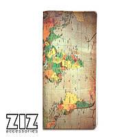 Тревел кейс, турконверт, холдер ZIZ Карта пергамент