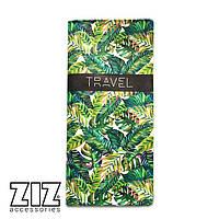 Тревел кейс, турконверт, холдер ZIZ Пальмовые листья