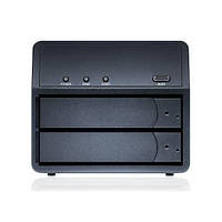 Накопитель  Sans Digital MR2UT+B MobileRAID 2 Bay SATA to USB3.0 eSATA RAID Enclosure