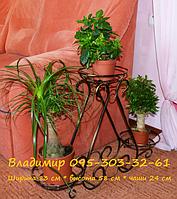 """Подставка для цветов на 3 чаши """"Пирамида-5"""", фото 1"""