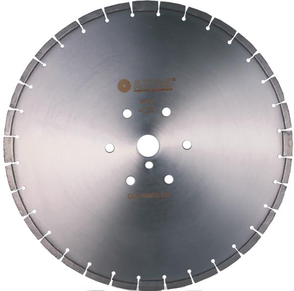 Алмазный круг ADTnS 600 мм (армированный бетон, высокоармированный бетон)