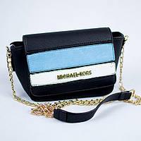 Модная женская черная сумка клатч Michael Kors