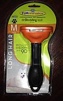 Фурминатор Long Hair Medium Dog ширина 6,8 см (фурминатор для длинношерстных собак М) - упаковка для рынка США