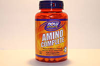 Амино комплекс, Amino Complete, Now Foods, 120 капсул