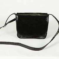 Женская сумка через плечо М52-63/лак black