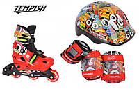 Tempish Monster Baby skate комплект роликовые коньки, фото 1