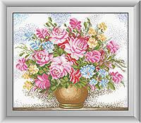 Картина алмазная вышивка Dream Art Нежный букет (DA-30252) 44 х 52 см