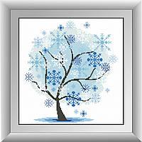 Алмазная техника Dream Art Зимнее дерево (DA-30315) 39 х 40 см