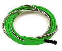 Спираль подающая зелёная D 2.0-2.4 мм 4.4м ABICOR BINZEL(124.0053)
