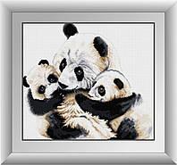 Картина алмазная вышивка Dream Art Панды (DA-30351) 40 х 45 см