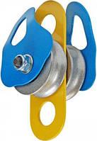 Блок-ролик Промальп двойной D50/41мм AL 30кН Крок 02212