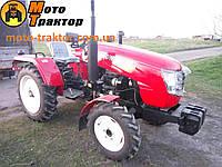 Трактор DW 244AT (24 л.с., 3 цил., КПП (8+2), ВОМ 2-скорости, розетка, гидро выход)