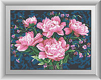 Набор алмазная мозаика Dream Art Пионы (DA-30380) 42 х 56 см