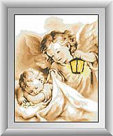 Картина алмазная вышивка Dream Art Сладкие сны (DA-30381) 45 х 57 см