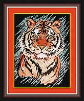 Алмазная мозаика Dream Art Полосатый хищник (DA-30384) 26 х 34 см