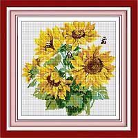 Набор алмазная вышивка Dream Art Солнечный букет (DA-30385) 34 х 35 см
