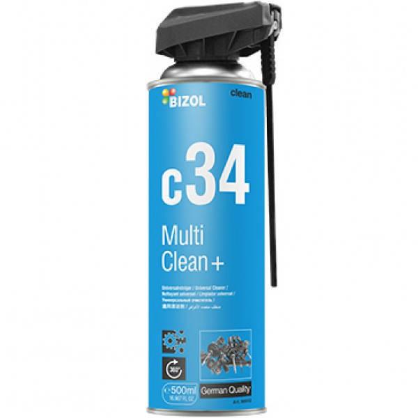 Универсальный очиститель - BIZOL Multi Clean+ c34 0,5 л., фото 2