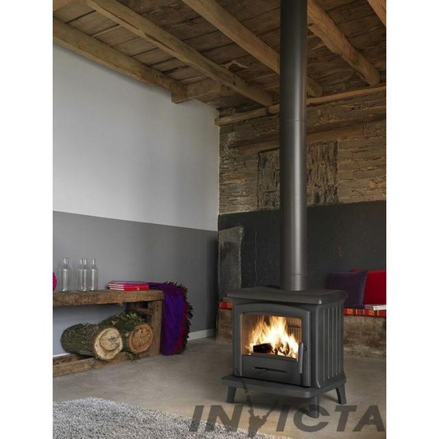 Печи - камины для воздушного отопления Invicta (Франция)