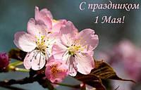 Поздравление с Первомаем!