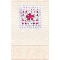 Набор для вышивки нитками открытки AOH-010. РОЗОВАЯ НЕЖНОСТЬ