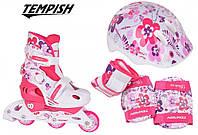 Tempish Flower Baby skate комплект роликовые коньки, фото 1